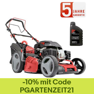 Scheppach Benzin Rasenmäher MS225-53 7PS 6in1 mit Antrieb Breite 53cm 0,6 L Öl