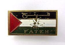 Fatah Palestinine  Liberation Movement AL FATEH Jewish Arab Conflict Pin Badge