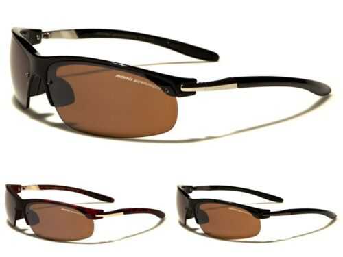 Anti-Glare Road Warrior Sport Semi Rimless Mens Womens Sunglasses 100/%UV400 7240