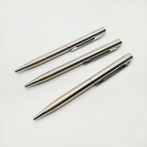 4-6-10x-Pocket-size-Ballpoint-Pen-Metal-Ballpoint-Rotating-Portable-Oil-Pen-Good