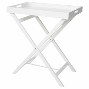 NEW-Folding-Tray-Table-White