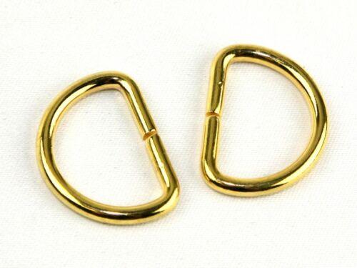 Metal D Rings per pack of 2 BF069-M