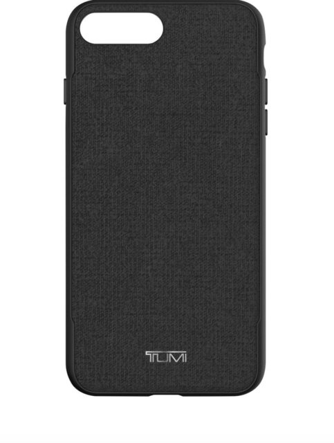 best service 1b14f 938f4 Tumi Coated Canvas Co-mold Case for Apple iPhone 7 Plus Black