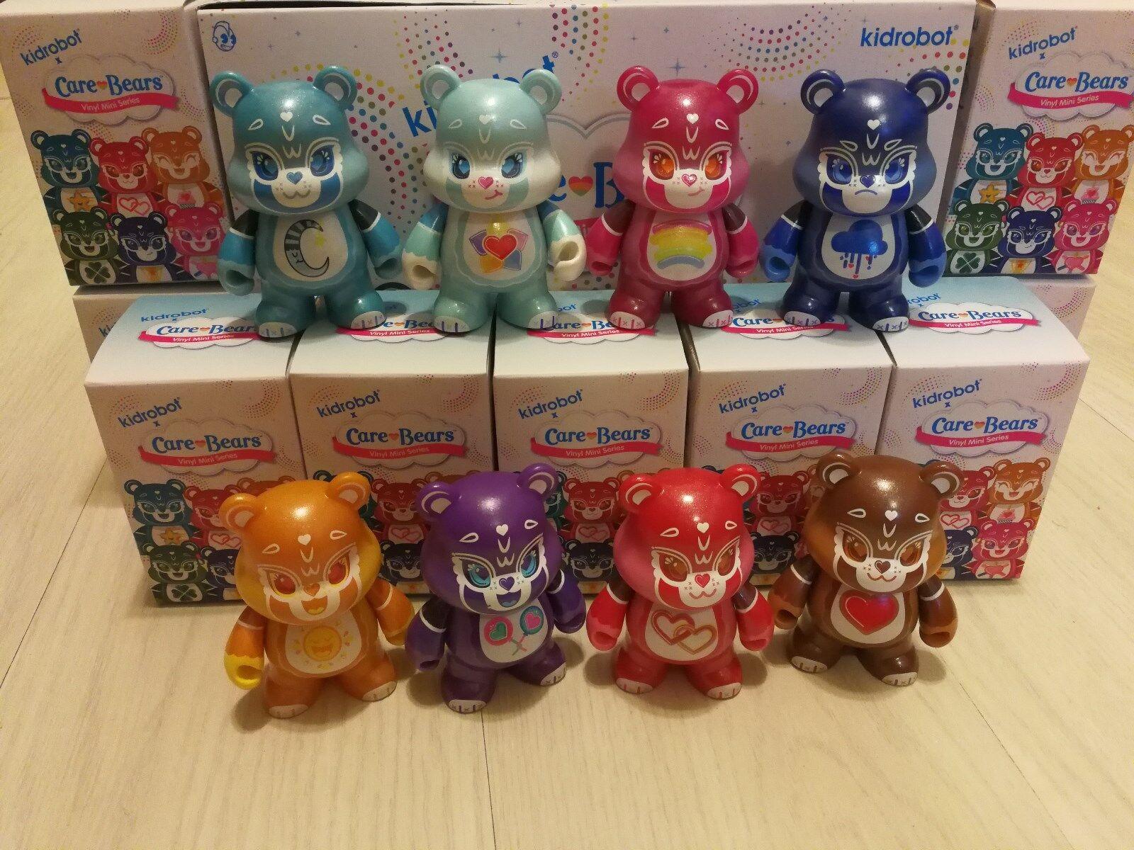 Kidrobot 3  Care Bears Mini Series - 8pcs Set