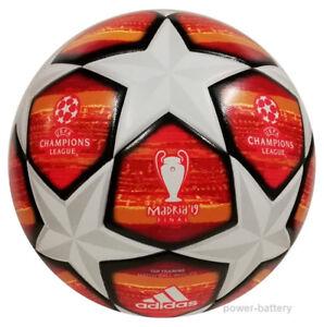 Details zu Adidas Finale Madrid 2019 Top Trainingsball nahtlos Fußball CL League Ball