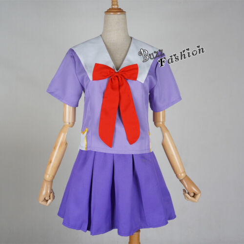 S-XL Lolita Anime Cute Women Dress Purple Uniform Suits Party Cosplay Costume