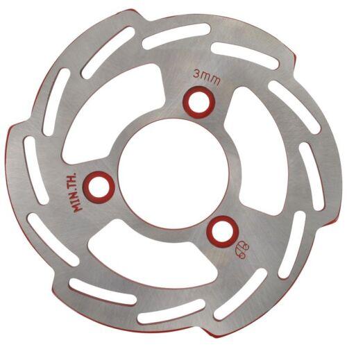 Disques de frein DISQUE DE FREIN 180x58x4mm 3 trous Wave roue avant yy50qt-28 Mde NEUF