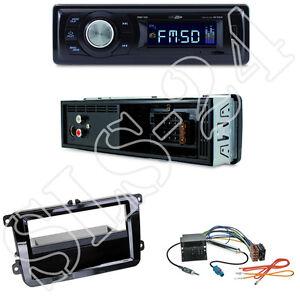 Caliber-RMD021-Radio-VW-T5-Multivan-Caravelle-Transporter-Blende-ISO-Adapter