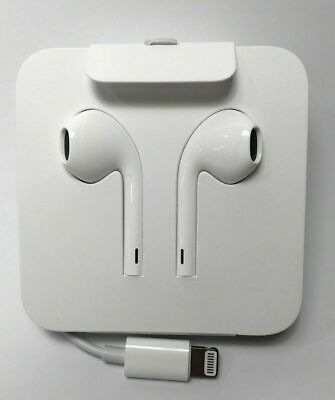 Genuine Apple Iphone 11 Pro Max Xs Xr 8 7 Lightning Earpods Headphones Earphones Ebay