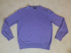 Details about BANANA REPUBLIC Luxury Blend Silk Cotton Cashmere Blend V Neck Sweater Men's L