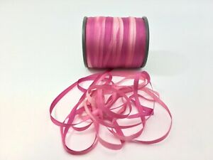 """Hand Dyed Dusty Champagne Rose #2 Pure Silk Embroidery Ribbon 4mm 1//8/"""" wide"""