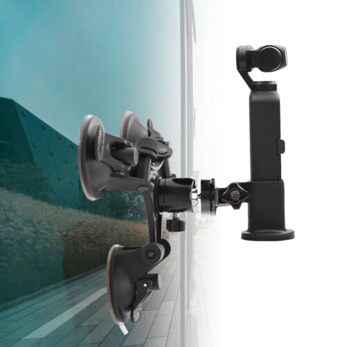 Suction Cup Car Holder ABS Tripods Mount Base Adapter For DJI OSMO Pocket