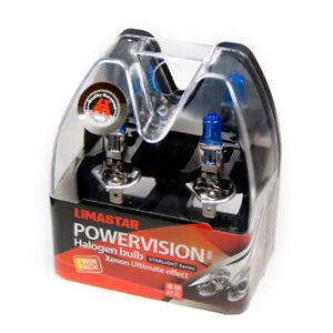 4X-H1-6000K-Pere-Lampada-Alogena-Xenon-Optik12-Volt-55-Watt-Super-Bianco