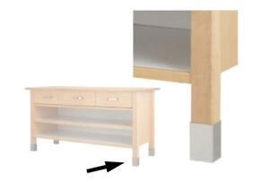 Ikea Värde Fußverblendung Aus Edelstahl Ebay