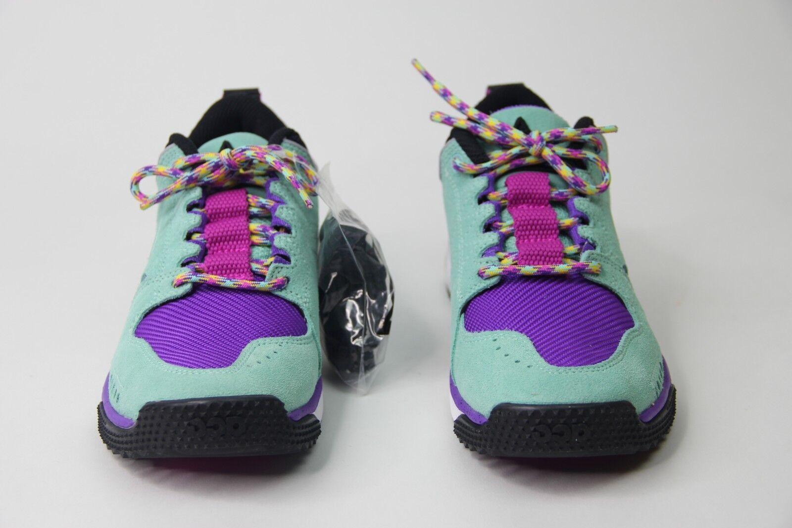 5a15d452a0 Nike ACG Dog Mountain Hiking shoes Emerald Rise bluee Purple AQ0916-300 Mens  SZ 6