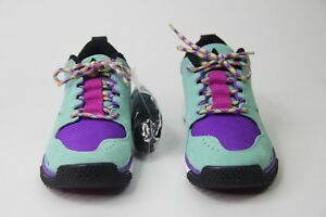 e8fa9783c14 Nike ACG Dog Mountain Hiking Shoe Emerald Rise Blue Purple AQ0916 ...