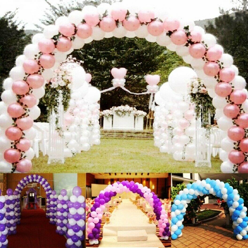Ballon Bogen Luftballon Tür Basis Stangen Schnalle Set Hochzeit Party Dekoration