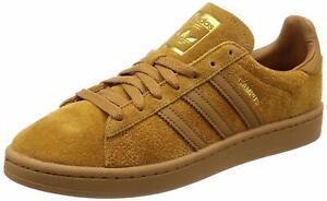 New-Adidas-Originals-CAMPUS-Shoes-Mesa-Wheat-Suede-Sneakers-CQ2046-Men-039-s-US-12