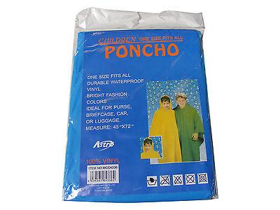 Acquista A Buon Mercato Bambini/bambini Blu Poncho Impermeabile Riutilizzabili Vinile Plastica - Taglia