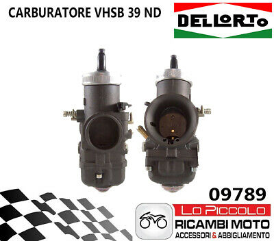 09797 CARBURATORE DELLORTO VHSB 39 NS 2T ARIA MANUALE  UNIVERSALE SCOOTER//MOTO//E
