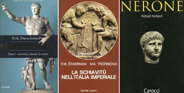 DURSCHMIED, Erik. Eroi per forza +altri 2 libri di storia di Roma