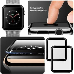 For-Apple-Watch-4-3-2-Tempered-Glass-Film-Full-Cover-3D-Curved-Screen-Protector