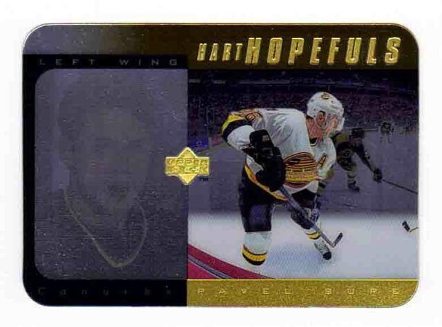 1996-97 Upper Deck Hart Hopefuls GOLD x/100 PAVEL BURE Holo Acetate Canucks RARE