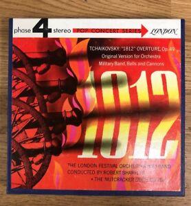 E7-Tchaikovsky-1812-Overture-SHARPLES-LONDON-Reel-to-Reel-4-Track-7-1-2-IPS