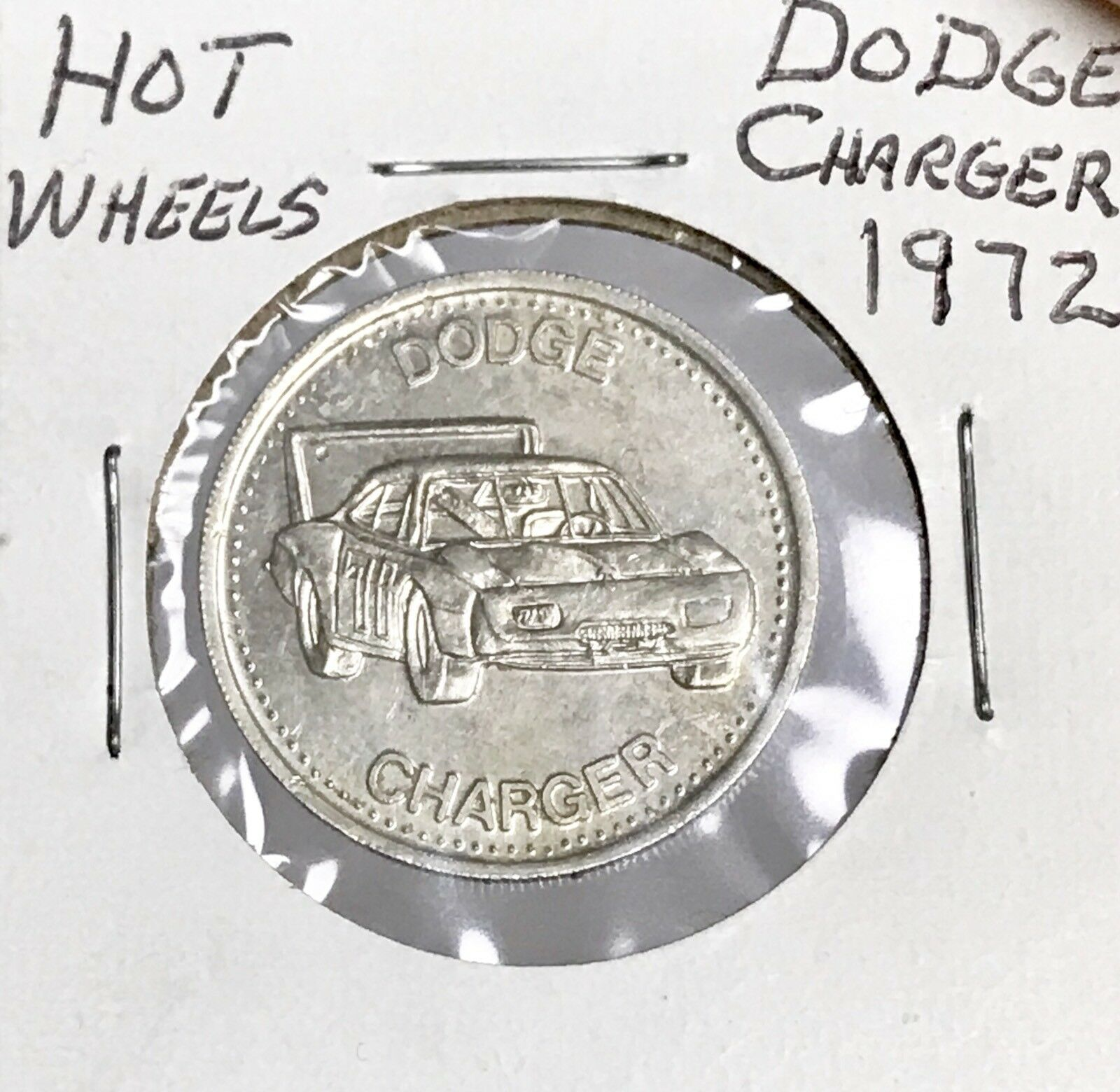 Hot Wheels Redline 1972 Dodge Charger Shell Coin Game Token