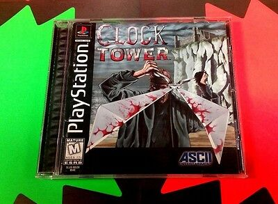 Clock Tower (Sony PlayStation 1, 1997) PS1 PS2 COMPLETE