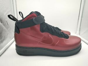 super popular 25590 36d3f Details about Nike Air Force 1 Foamposite Cup UK 7.5 Team Red Black  AH6771-600