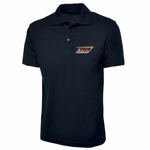bb030771 Image is loading Stark-Industries-Logo-Polo-Shirt-Left-Chest-Embroidered-