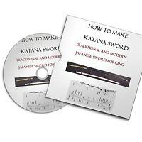 How To Make Katana Weapon Japanese Sword Knife Smith Forging Books Blacksmith