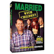 New! Married with Children: The Complete Series (DVD, 2015, 21-Disc Set)