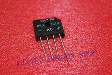 2 PCS KBU1010  10A 1000V Single Phases Diode Rectifier Bridge A367