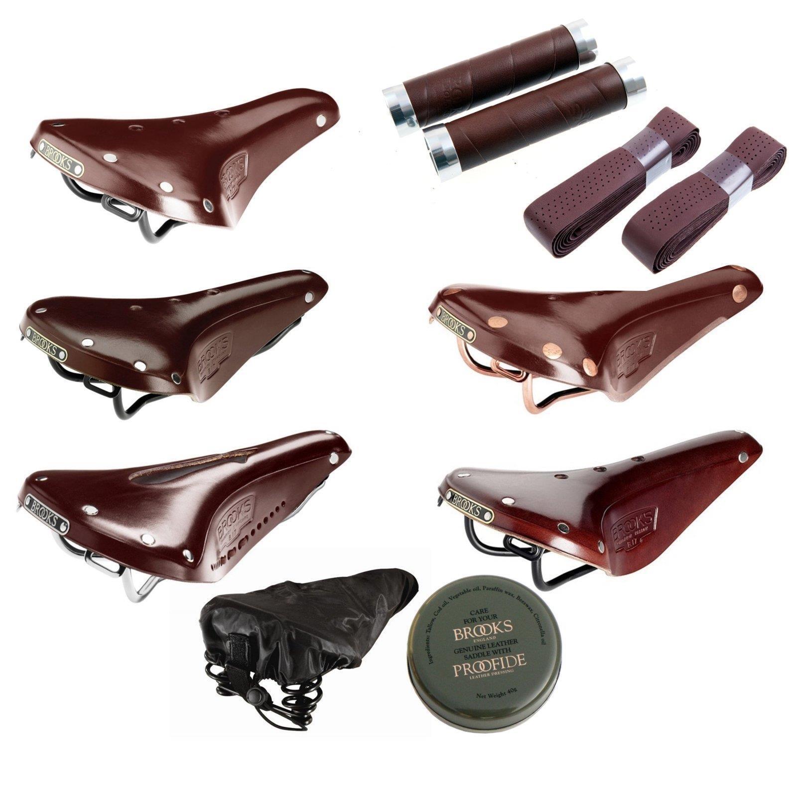 Brooks b17 Herren Ladies Saddle braun Standard Narrow Imperial Lenker Griffe