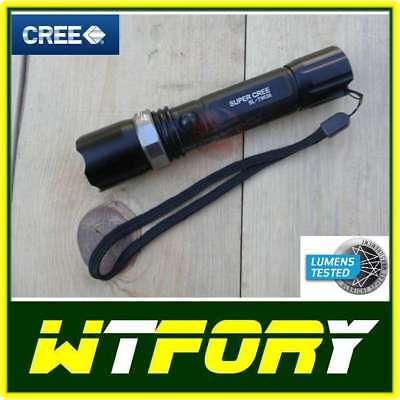 Torcia tattica led cree ricaricabile litio bl t8626 zoom for Rastrelliera per fucili softair