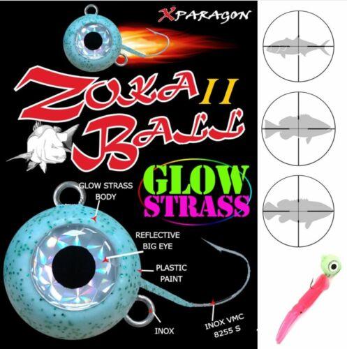 X PARAGON KABURA /& BAITING SYSTEM ZOKA BALL II GLOW STRASS 100g