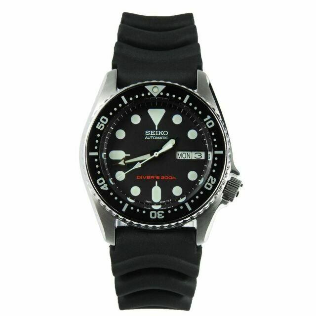 Seiko Prospex Men S Black Watch Skx013 For Sale Online Ebay
