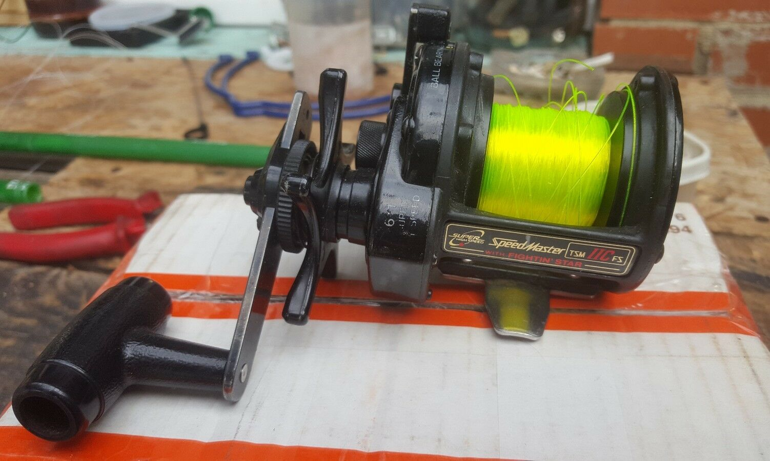 Shimano Speedmaster TSM11FS Reel Triton Triton Reel Fighting Star a695e9