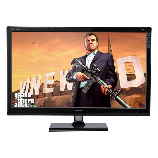 """QNIX QX2710 LED Evolution II Multi TRUE10 27"""" 2560x1440 QHD DVI HDMI Monitor"""