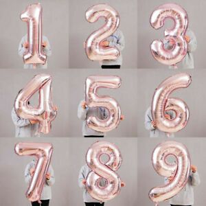 40-034-ROSE-GOLD-Number-Foil-Helium-Balloon-for-Birthday-Anniversary-Party-Decors