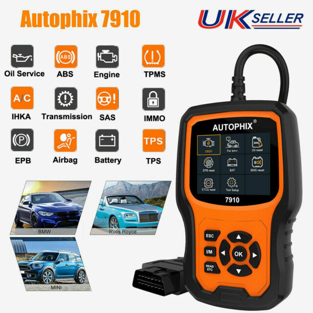 FOXWELL NT510 for BMW 5 SERIES E60 OBD2 DIAGNOSTIC SCANNER ABS SRS EPB READER