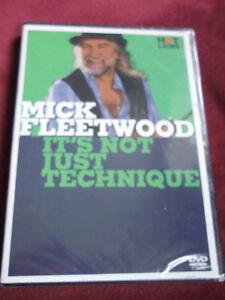 Mick-Fleetwood-Drum-School-DVD-Hot-Licks-Neu-verschweisst
