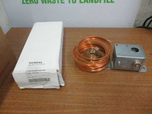 HVAC Low Temperature Cutout Control 35-45 F Siemens 134-1510 for sale online