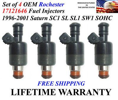 SL /& SW Series 1.9L SOHC Brand NEW Fuel Injectors for Saturn 1996-2001 SC