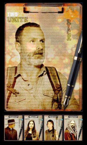 UNITE THE COMMUNITIES 4 CARD SET RICK AWARD Topps WALKING DEAD DIGITAL TRADER