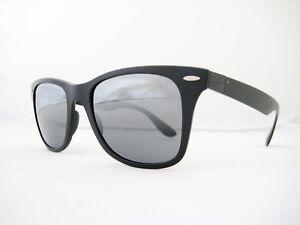 8f1222e45 Image is loading new-Ray-Ban-Wayfarer-Liteforce-Sunglasses-RB4195-601S88-