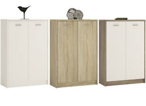 Crescita-Tall-2-Door-Cupboard-in-Oak-Pearl-White-or-Canyon-Living-Cabinet-Bed