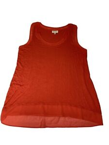 Autograph Womens Plus Size Top Sleeveless Asymmetrical Size 18